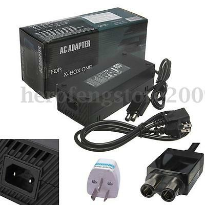 AU Mains Power Supply Brick Charger Adapter Cable Cord For Xbox One Console Lead