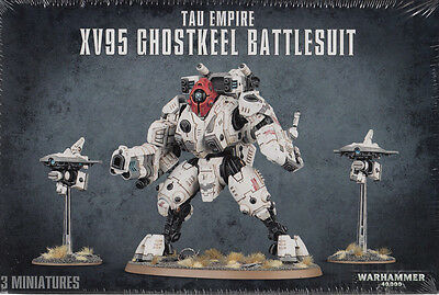 Warhammer 40.000 - TAU EMPIRE XV95 GHOSTKEEL BATTLESUIT - 56-20