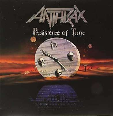 Anthrax - Persistance Of Time NEW LP