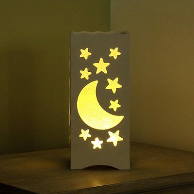 23Cm Indoor Battery Children's Bedside Table Mood Night Light Moon Star Lamp