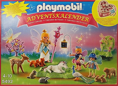 PLAYMOBIL 5492 - Adventskalender, Einhorngeburtstag Advent Calendar NEU NEW