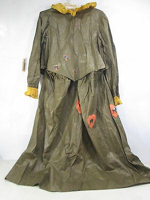 Antique Halloween Costume- Skirt & Top and Fabric