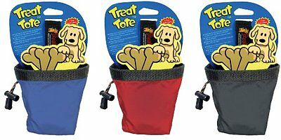 Canine Hardware Treat Tote Small 1 Cup (Colors Vary) Pet New