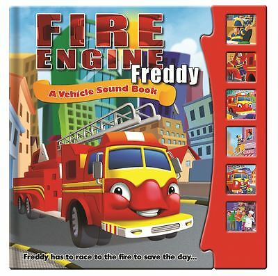Vehicle Sound Book Fire Engine Freddy