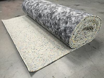 Cheap 10mm Thick Carpet Underlay PU Foam 1 Full Roll - 15 square metres m²