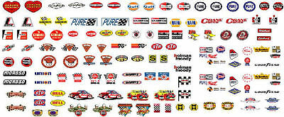 CD_CA_001 Contingency Sponsor Stickers #1 CLEAR BACKGROUND  1:18 scale decals