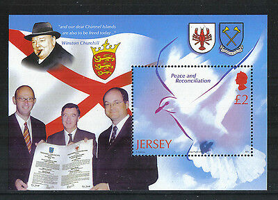 Jersey 2005 End of World War 60th Anniversary ss--Attractive Topical (1163) MNH