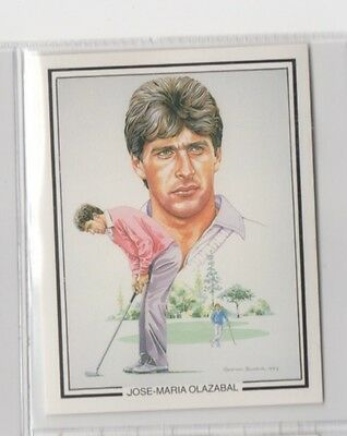 #7 Jose-Maria Olazabal - The Ryder Cup 1987 Winners Collector Card