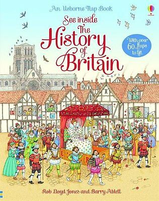 See Inside History of Britain (Usborne See Inside),Excellent Condition