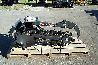 """36"""" Trencher Fits Mini Loaders,Ditch Witch,Vermeer,Toro,Boxer,Prowler,By Bradco"""