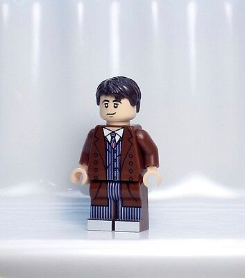 A890 Lego CUSTOM PRINTED Lego Dimensions INSPIRED DOCTOR WHO TENTH DR MINIFIG