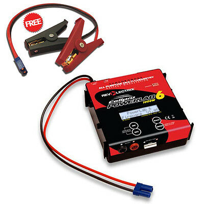 Revolectrix Cellpro PowerLab 6 6S/40A/1000W Battery Charger FREE Gator Clips