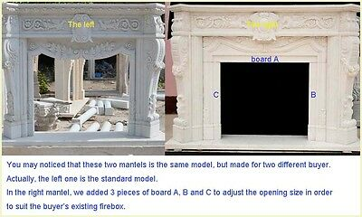FromFactoryToU - HOW TO CUSTOMIZE A PERSONAL MARBLE FIREPLACE MANTEL SURROUND