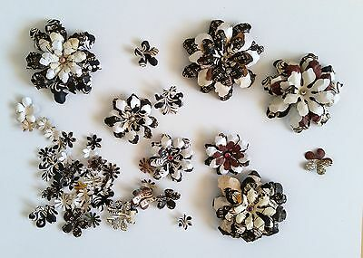 7+ Handmade Cafe Latte Paper Flowers #1 Perfect for Scrapbooking, Cards, etc