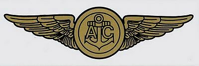 Navy Aircrew  Wings Decal Sticker