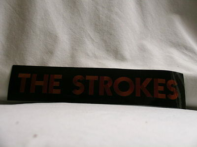 THE STROKES Room On Fire RCA promo only 2003 STICKER