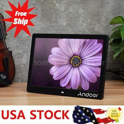 13 Inch LED Digital Photo Frame Picture Music MP3 MP4 Movie Player Multimedia US