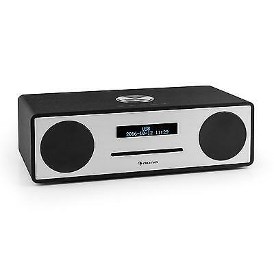 Dab Cd Player Ukw Digital Radio Wecker Musik Stereo Anlage Bluetooth Usb Mp3 Aux