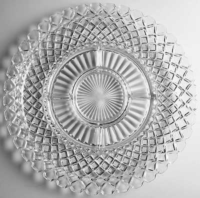 Anchor Hocking WATERFORD CLEAR 6 Part Relish Dish 6727