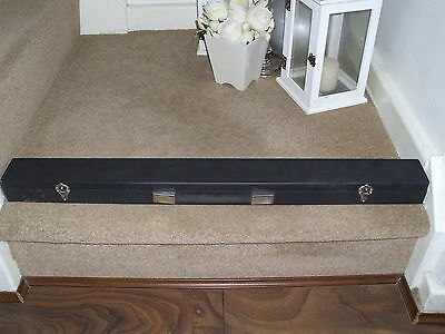 Vintage Riley  Snooker/Pool cue Signed By Steve Davis In A Case