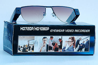 HD video brille 5Mega Pixel Sonnenbrille Sun 1080P versteck kamera Spy glass 8GB