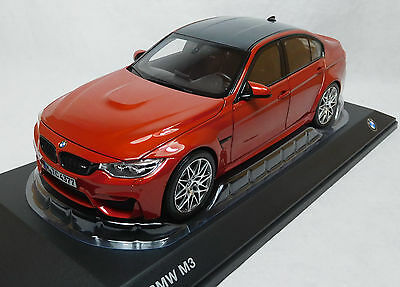Modelcar Scale 1/18 BMW M3 Competition shakir orange metalic Norev NEW