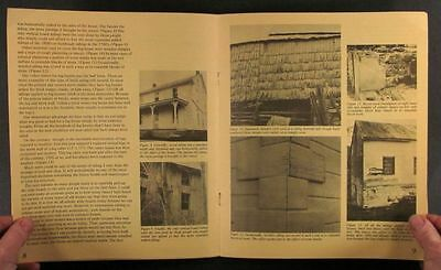 Early American Log Cabin Building, Details & Restoration - A Scarce Study