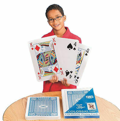 Colossal Playing Cards - Monster Sized Pack of Giant Playing Cards