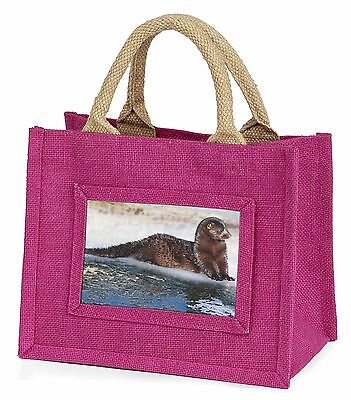 Mink on Ice Little Girls Small Pink Shopping Bag Christmas Gift, AWE-1BMP