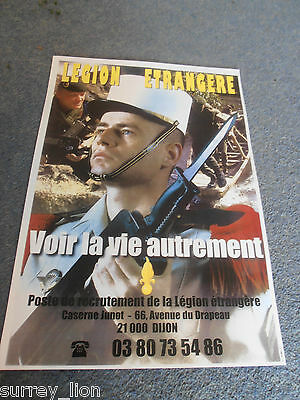 French Foreign Legion  Recruitment Poster 2