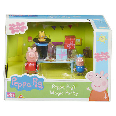 Peppa Pig's Magic Party Playset NEW