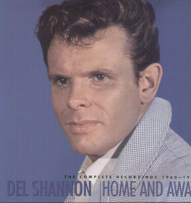 Del Shannon - Home & Away-The Complete Recordings 1960-70 [New CD] Boxed Set, Wi