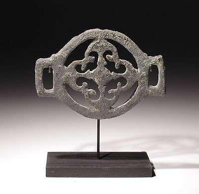 Ancient Roman Bronze Military Strap Junction Circa 2Nd Century Ad • CAD $283.50