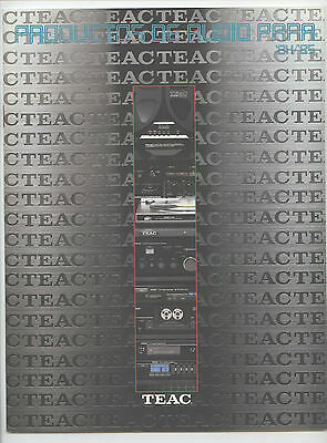 Teac - Catalogo General  1984 - 1985  Español   Catalogo Ariginal • EUR 8,50