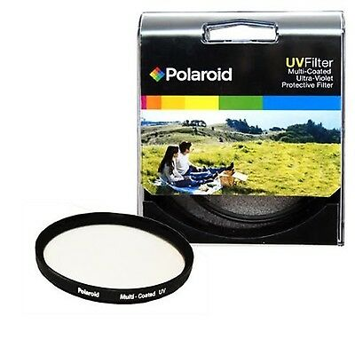 Polaroid Optics 77mm Multi-Coated UV Protective Filter EXPRESS DELIVERY
