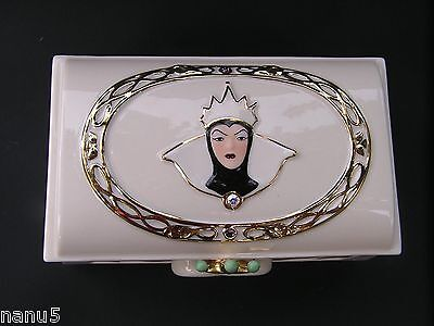 LENOX The HUNTSMAN'S BOX from SNOW WHITE Wicked Queen NEW in BOX with COA Witch