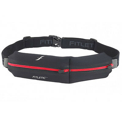 Fitletic Neoprene Double Pouch - Red