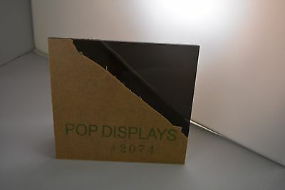 """POPDISPLAYS  COLOR SAMPLE   OF COLOR #2074 GRAY   1/8"""" x 1.5."""" x 1.5"""""""
