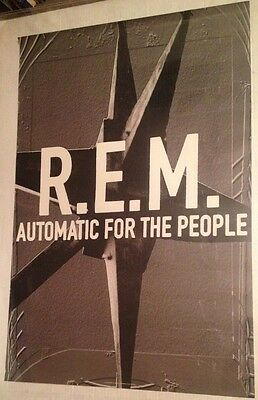 REM Automatic for the People ORIGINAL 24x36 1992 PROMO POSTER