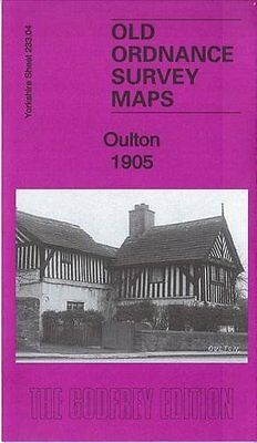 Old Ordnance Survey Map Of Oulton 1905