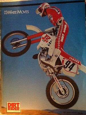 6Pages Race Test Article For 1988  Yamaha YZ125u Motocross Motorcycle