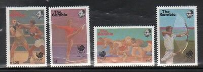 Gambia 734-37 Summer Olympic Sports Mint NH