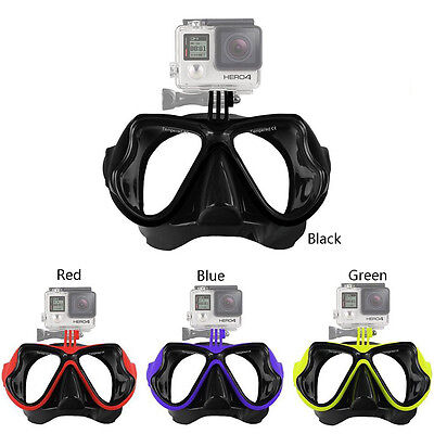Camera Mount Diving Mask Scuba Snorkel Swimming Goggles for GoPro Camera FHRG