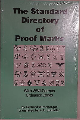 WW2 German Ordnance Codes Standard Directory Of Proof Marks Reference Book