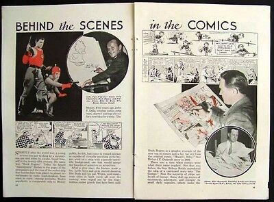 Buck Rogers - Dick Tracy and More 1936 Comic Strip vintage pictorial