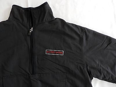 HBO SIX FEET UNDER Grave Digger Cast & Crew Wrap Gift Pull-Over Jacket M