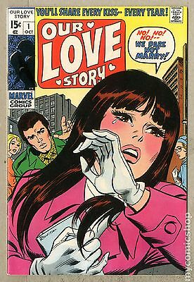 Our Love Story (1969) #1 FN+ 6.5