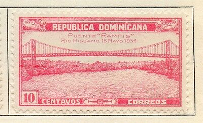 Dominican Republic 1934 Early Issue Fine Mint Hinged 10c. 104021