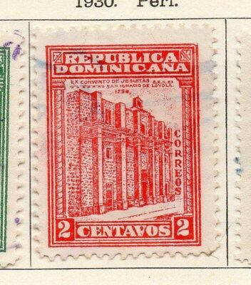 Dominican Republic 1930 Early Issue Fine Used 2c. 104052