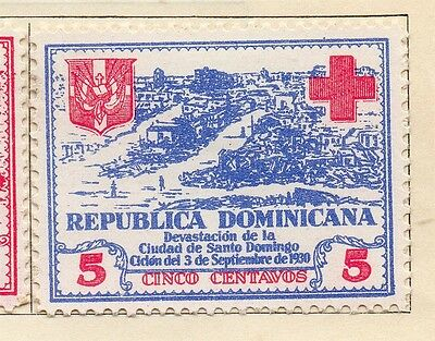 Dominican Republic 1930 Early Issue Fine Mint Hinged 5c. 104060
